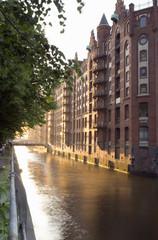 Deutschland, Hamburg, Speicherstadt, Kanal