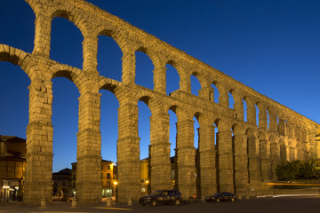 Segovia Roman Aquaduct - Spain