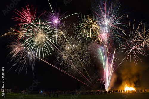 Foto op Canvas Carnaval Fireworks Display