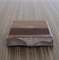 Einzelnes Stück Schokolade