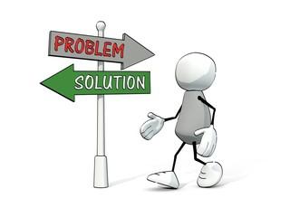 little sketchy man at destination board problem/ solution