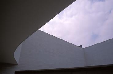 Moderne Außenansicht des Gebäudes