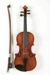 Violine und Bogen, close-up