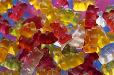 Gummibärchen, traditionelle deutsche Süßigkeit