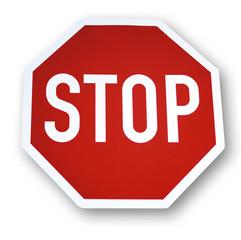 Stopp-Zeichen