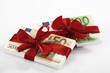 Banknoten als Geschenk gebunden