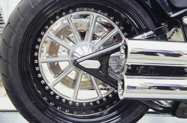 hinterrad, Harley Davidson