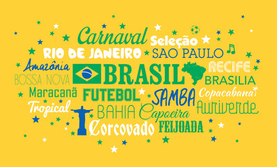 Brésil - mots