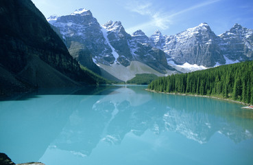 Kanada, Alberta, Banff National Park, Moraine Lake
