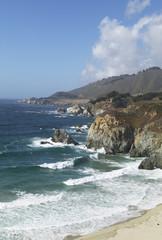 USA, Kalifornien, Ben Sur, Küste