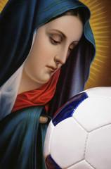 Madonna und Fußball
