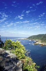 Südafrika, Eastern Cape, Storms River Mouth im Tsitsikamma Nationalpark