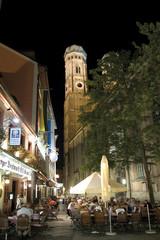 Deutschland, Bayern, München bei Nacht