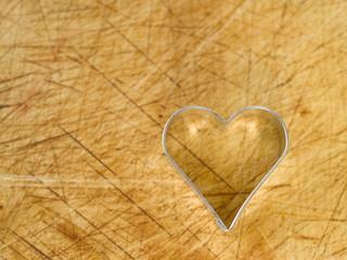 Herzform, Herz, Backförmchen