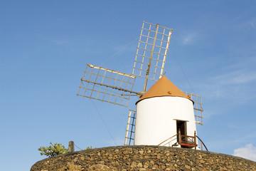 Spanien, Lanzarote, Windmühle