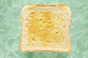 Scheibe Toast, close-up,
