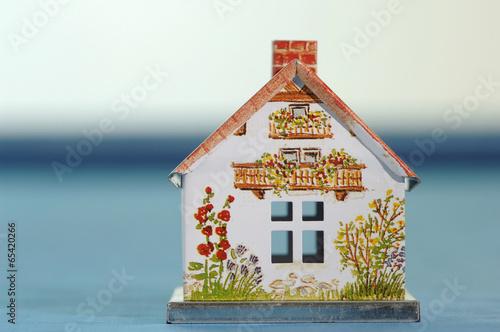 Modell eines Hauses