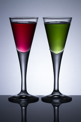 colours drinks