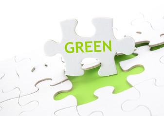 Puzzle - Grün