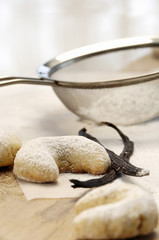 Vanille Cookies, Vanillekipferl