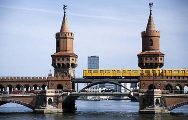 Deutschland, Berlin, Oberbaumbrücke