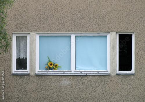 Fenster in Gebäude