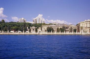 Türkei, Istanbul, Blick auf den Bosporus