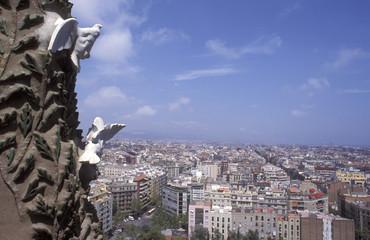 Spanien, Barcelona, __Sagrada Familia