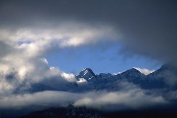 Engadin, in der Schweiz
