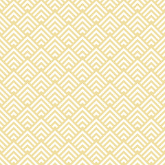 Retro Seamless Pattern Corners Yellow