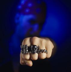 Schädel totenkopf Ringe