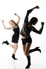 Frau jung tanzen