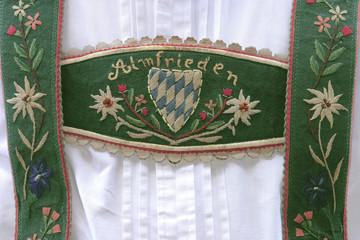 Deutschland, Bayern, Tracht, Lederhose