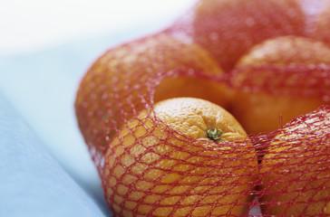 Orangen im Netz