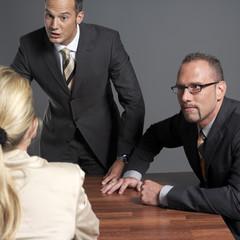 Business-Leute, Sitzung am Konferenztisch