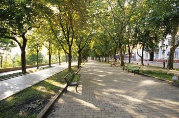 Primorskaya Boulevard, Odessa, Ukraine;