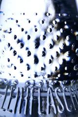 Glasflasche, Detail
