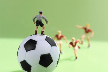 Fußball, Figuren spielen