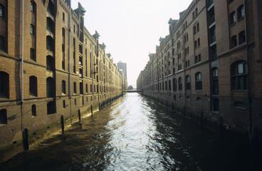 Deutschland, Hamburg, Speicherstadt