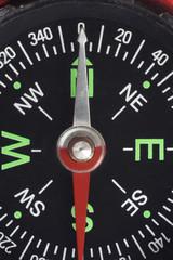 Kompass, close-up