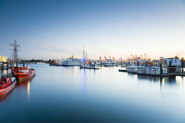 Deutschland, Hamburg, Niederhafen und Brandenburger Hafen