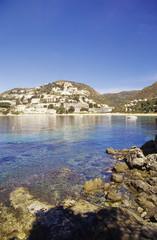 Dorfs Canyelles Petites, Bucht von Canyelles, Costa Brava, Katalonien, Spanien