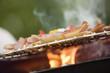 Wurst und Fleisch auf dem Grill