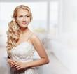 Portrait of Beautiful Young Fashion Bride