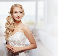 Portrait of Beautiful Young Fashion Bride