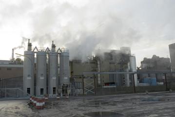 Deutschland, Hamburg, Industrieanlage im Hafen
