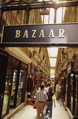 Türkei, Istanbul, Eingang zum Basar in Hamalbasi Caddesi (Beyoglu)