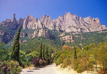 Montserrat, Katalonien, Spanien