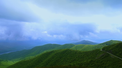 Mountain Valley Time Lapse (Blue Ridge Parkway, North Carolina)