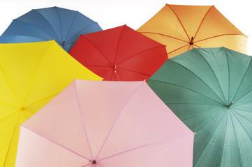 Verschiedene Schirme